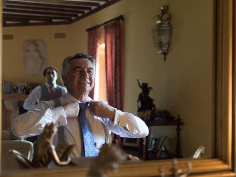 father, wedding, portrait, Segovia, rosa veloso.