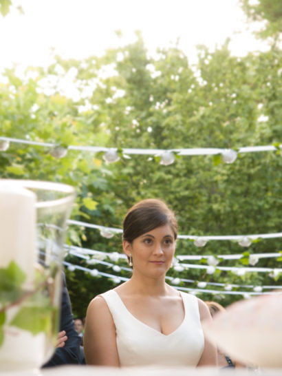 bride, wedding, portrait, chic, garden, Logroño, rosa veloso
