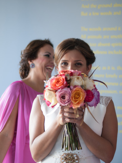 bride, Bridesmaids, wedding, portrait, bouquet, madrid, rosa veloso