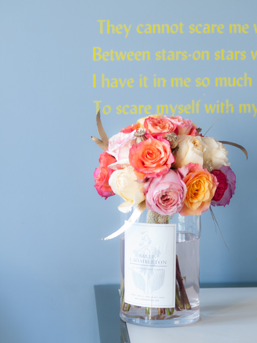wedding, portrait, bouquet, madrid, rosa veloso