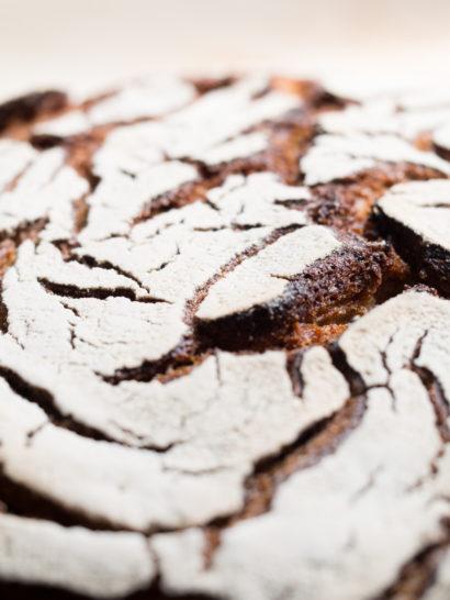 Whole rye bread, sourdough, rosa veloso