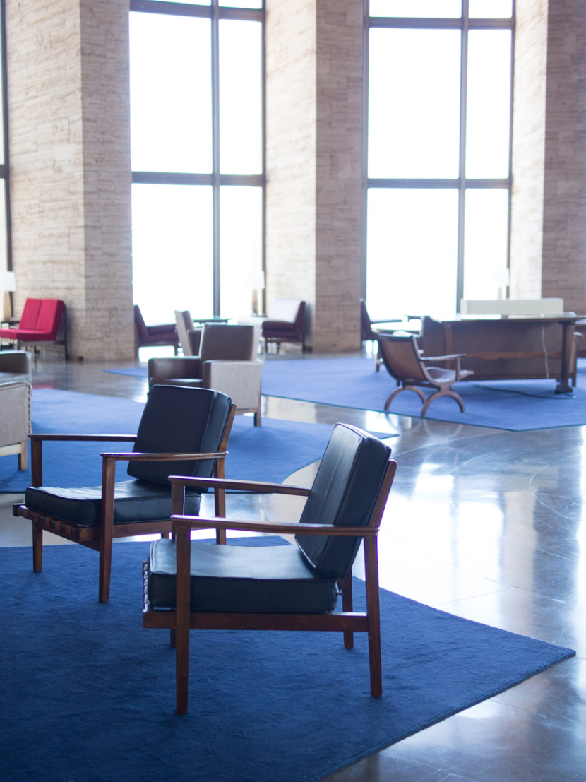 blue lobby, deco photography, old, hotel, Begur, Costa Brava, emporda, rosa veloso