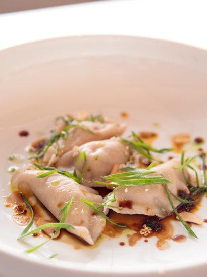 gastronomic photography, dumplings, culinary art, asian food, sudestada madrid, rosa veloso