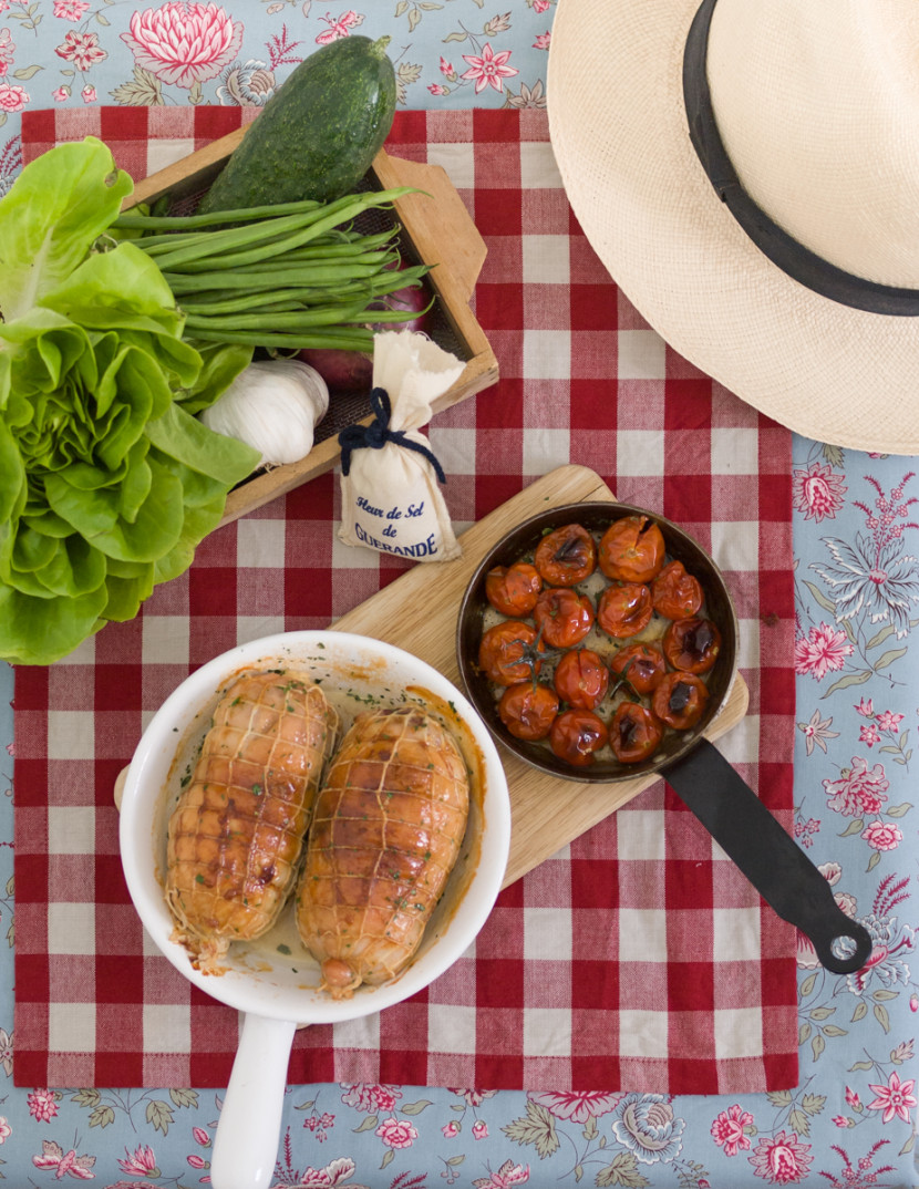 filled turkey roast, takeaway, picnic, meals, chicken, cooking food, styling, summer, food photography, madrid, rosa veloso