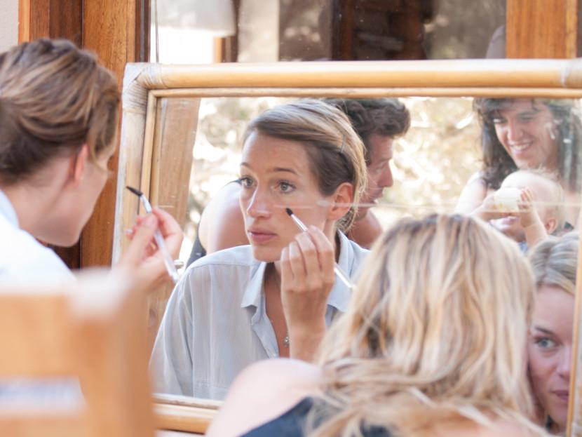 bride, wedding, portrait, beach, Formentera, rosa veloso