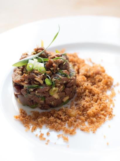 bluefin tuna tartar, seafood, fish, peruvian food, foodies, chef, cook, home chef, madrid, rosa veloso