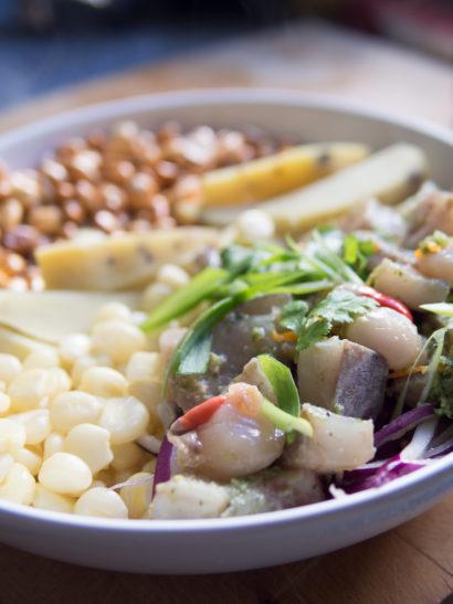peruvian ceviche, peruvian food, spice, seafood, shellfish, fish, foodies, chef, cook, home chef, madrid, rosa veloso