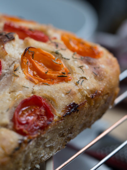 focaccia, Italian food, roasted tomatoes, oven, sourdough, foodies, chef, cook, home chef, madrid, rosa veloso