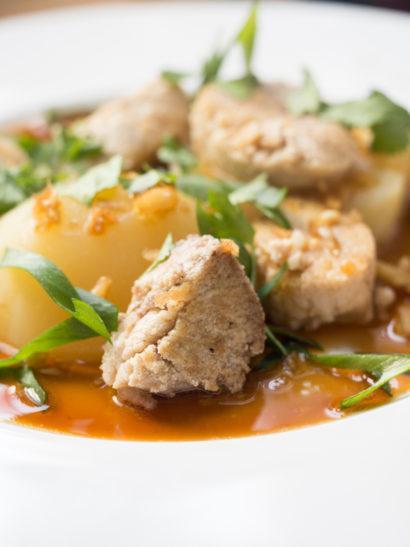huevas merluza, hake roe, vietnamese marinade, asian food, foodies, chef, cook, home chef, madrid, rosa veloso