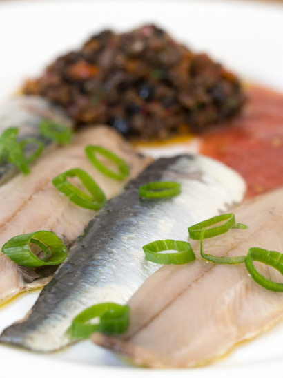 marinated sardines, seafood, fish, raw, mediterranean, Spanish food, comida española, foodies, chef, cook, home chef, madrid, rosa veloso