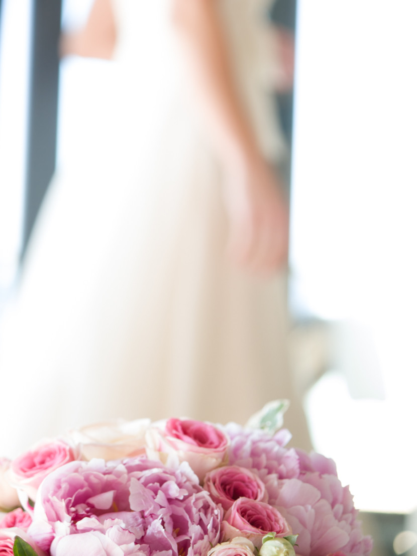 bride, wedding, portrait, fancy, bouquet, Galicia, rosa veloso