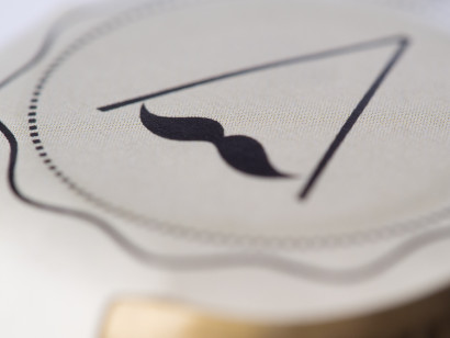 label, Mustache beer luxe, Rosa Veloso, food, beverages, gastronomic photography, Madrid.