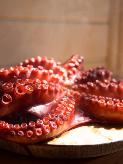 pulpo gallega, octopus, seafood, Spanish food, comida española, foodies, chef, cook, home chef, madrid, rosa veloso