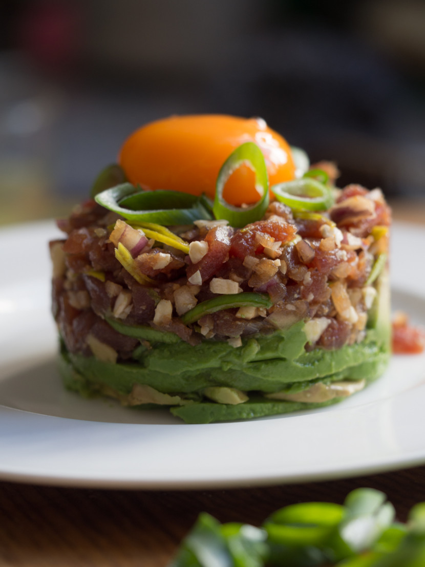 tuna tartar, asian food, raw, foodies, chef, cook, home chef, madrid, rosa veloso, seafood, fish