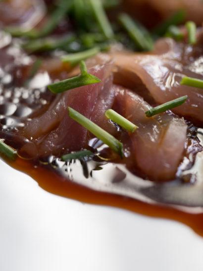tiradito chicharro, horse mackerel, seafood, raw, peruvian food, foodies, food, chef, cook, home chef, madrid, rosa veloso